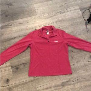 Women's Northface half zip pullover